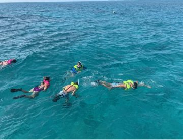 5 Hours Combo: Snorkeling, Sandbar and Sunset Excursion!